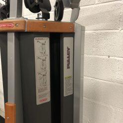 Star Trac Human Sport Dual Lat Pulldown Pulley Machine