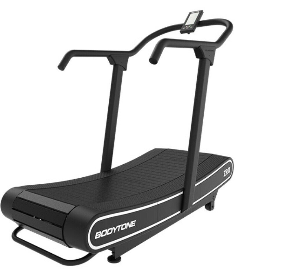 Cybex Treadmill Hiit: BodyTone ZRO Commercial Curved HIIT Treadmill *Brand New